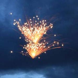 Fireworks at Rothenburg