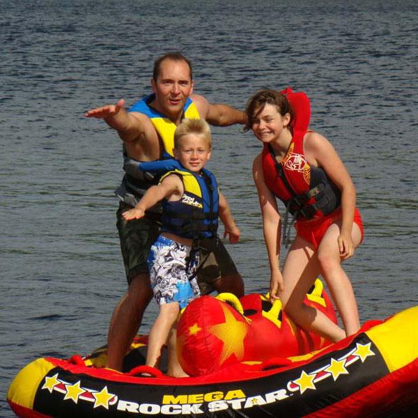 Emma Lake Tubing